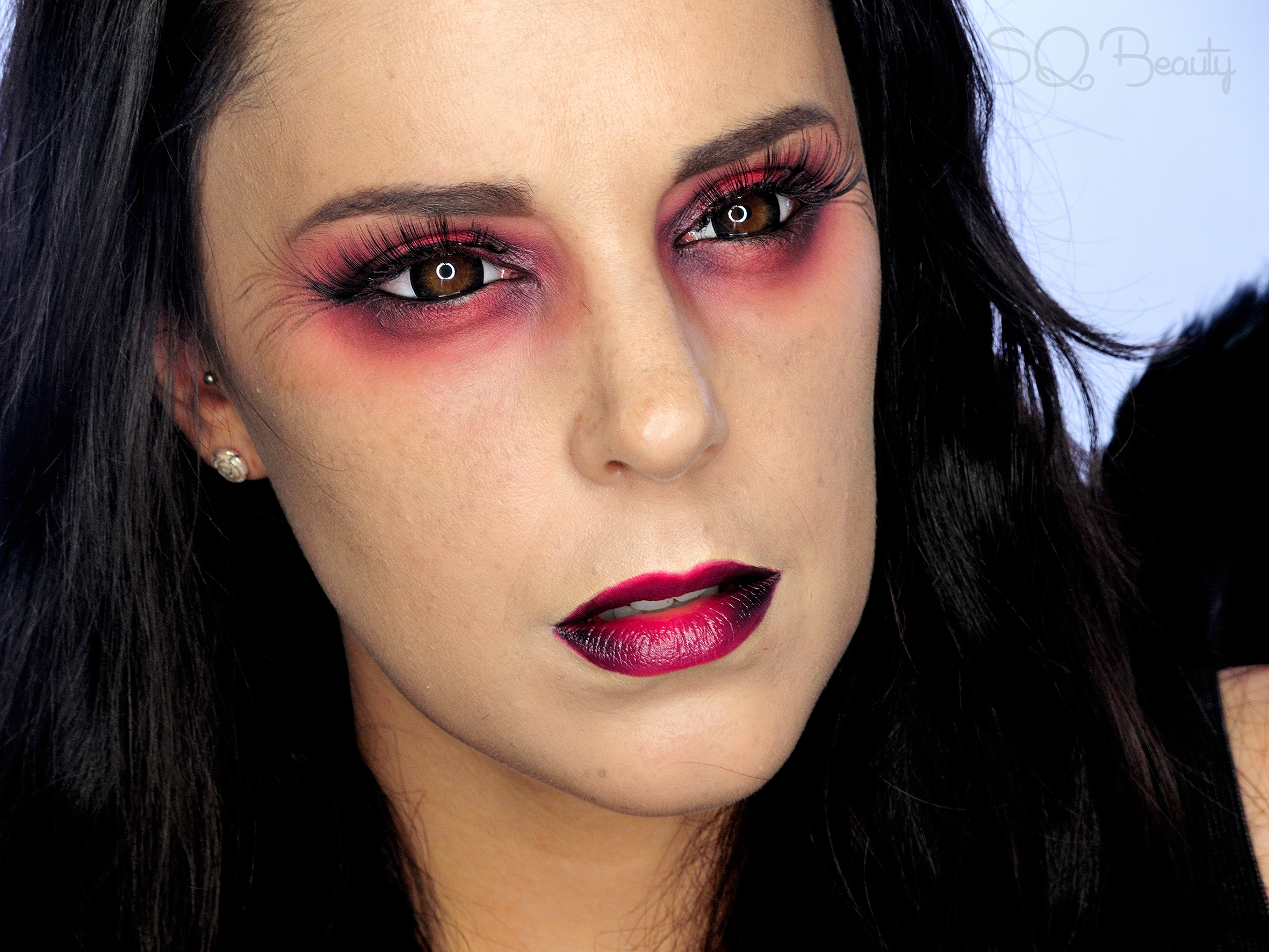 Fallen Angel Halloween Makeup tutorial - Silvia Quirós