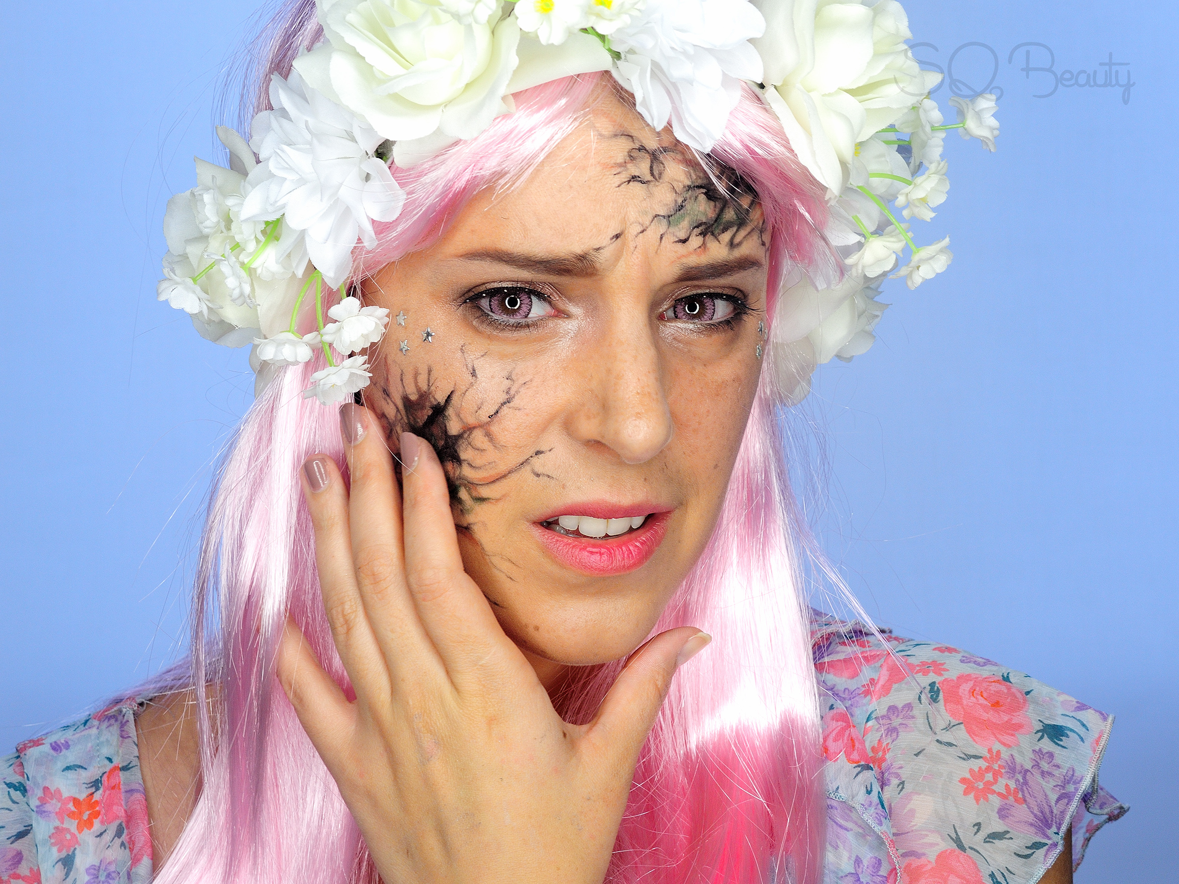 Dying Fairy Halloween Makeup Tutorial Silvia Quir 243 S