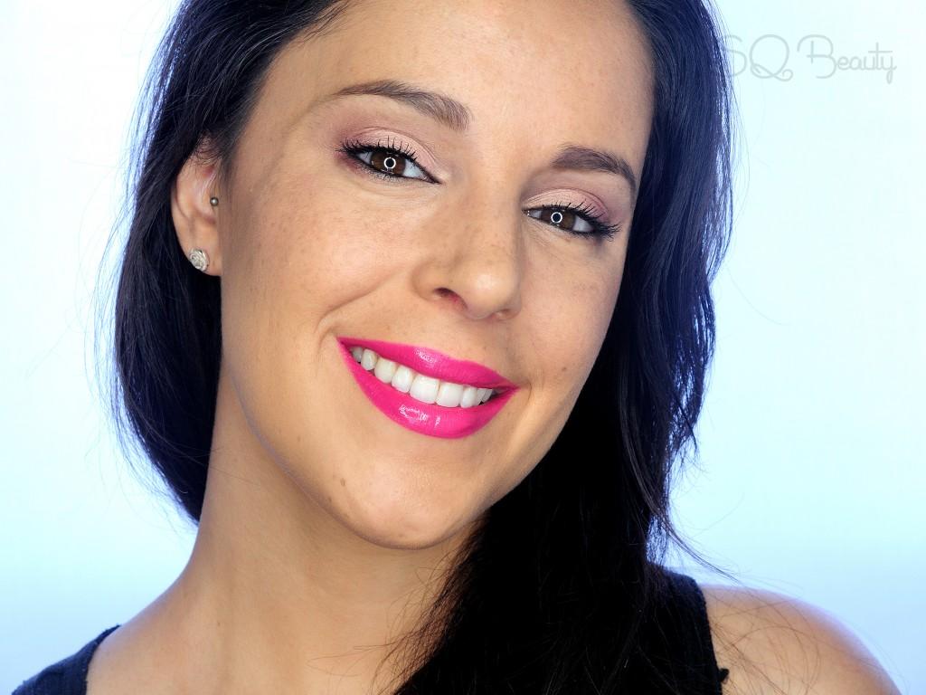 Tutorial maquillaje Labios fucsia