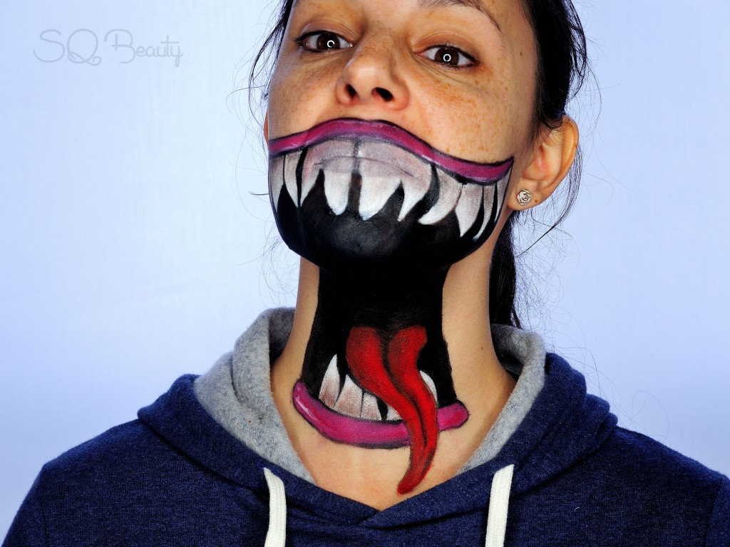 Tutorial maquillaje efecto boca abierta