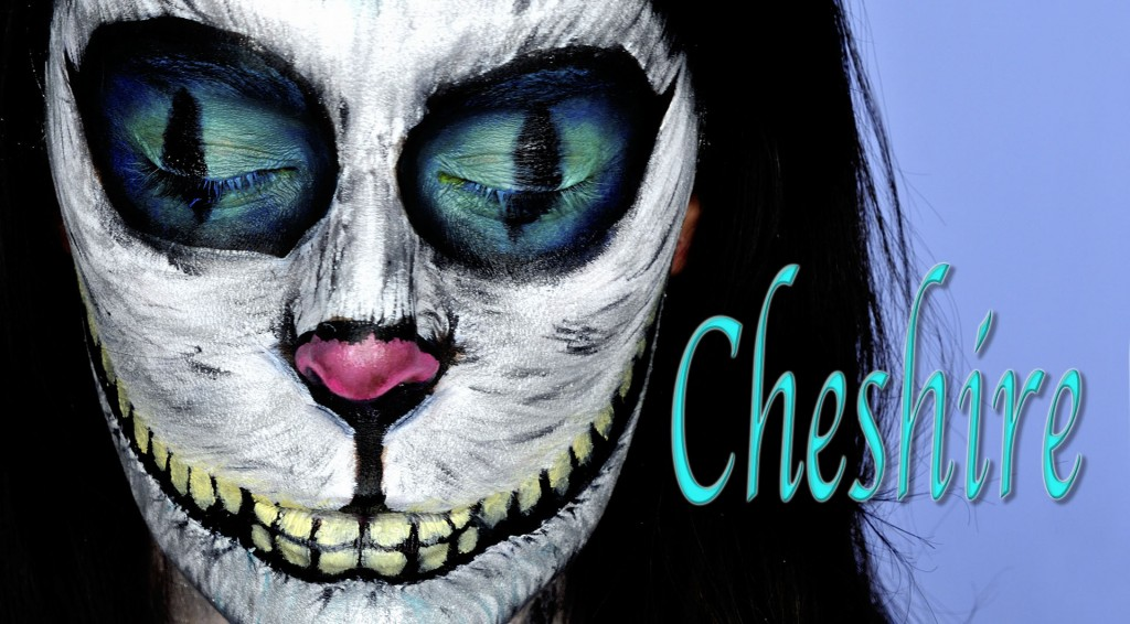 Tutorial Maquillaje Cheshire Gato Alicia en el País de las Maravillas