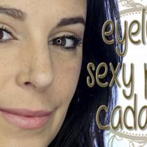 Tutorial maquillaje eyeliner sexy para cada día