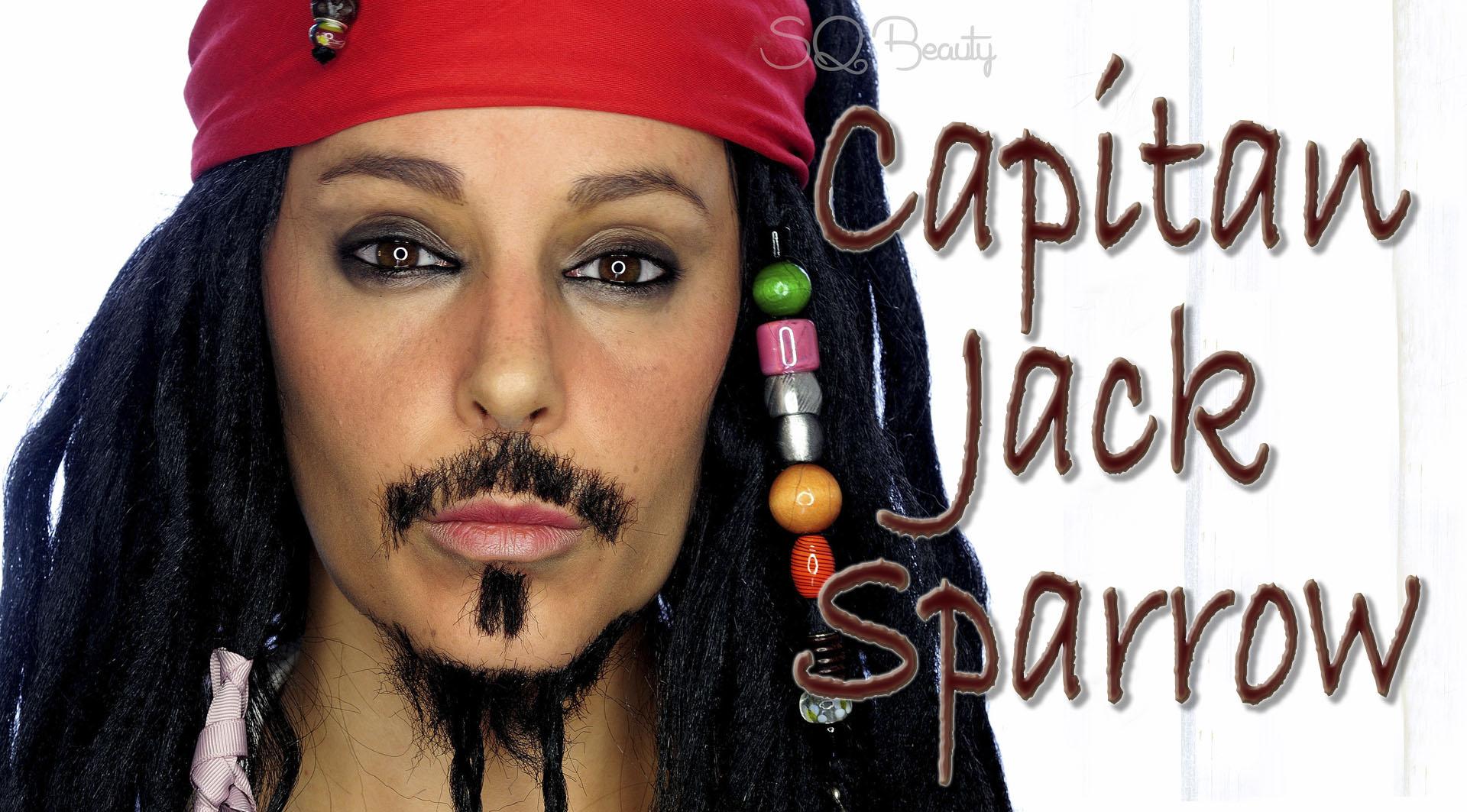 Jack Sparrow Makeup - Mugeek Vidalondon