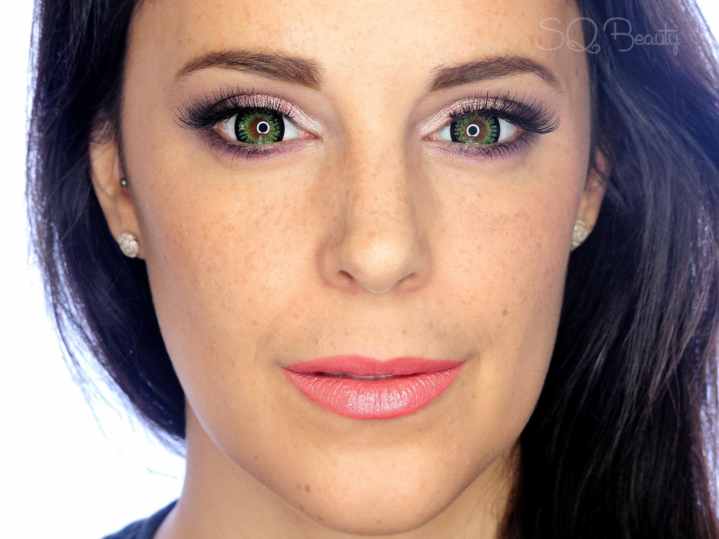 Green Eyes Makeup Tutorial Silvia Quir