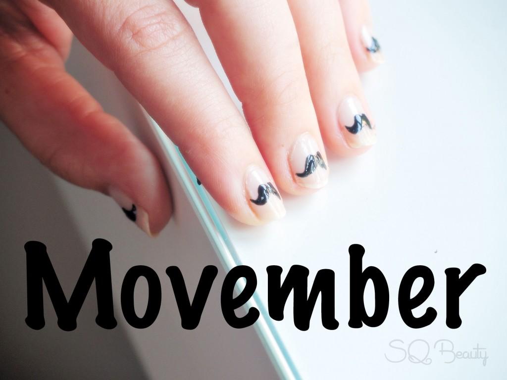 Nail Friday manicura Movember