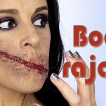 Tutorial maquillaje efectos especiales corte sin boca