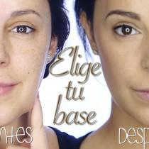 Tutorial como elegir tu base de maquillaje y usar correctores