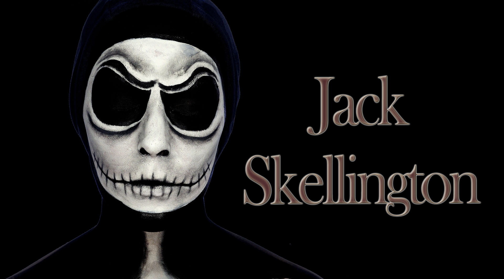 Jack Skellington Makeup Tutorial Silvia Quir 243 S