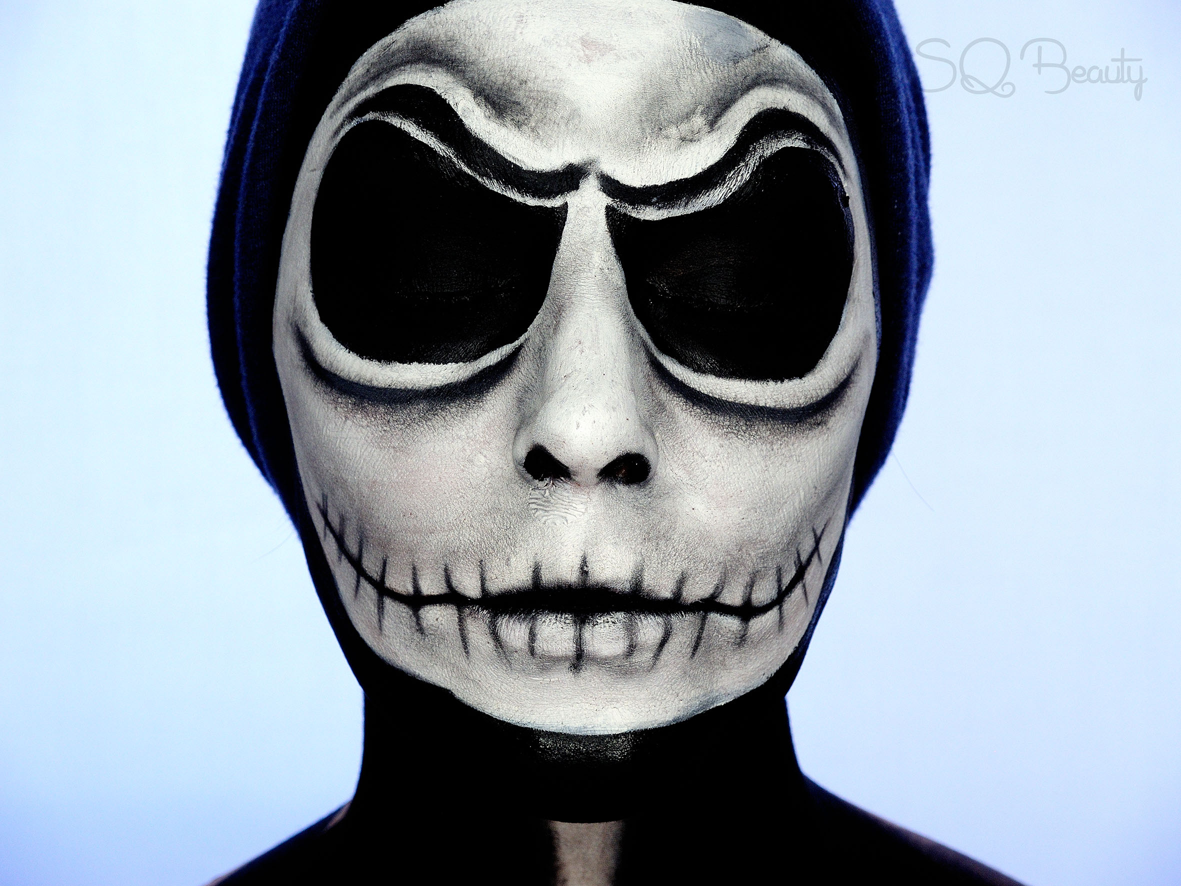 Tutorial Maquillaje Jack Skellington