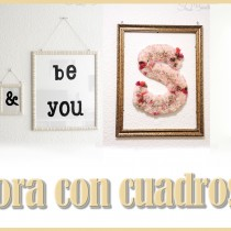 Decora con cuadros tutorial DIY