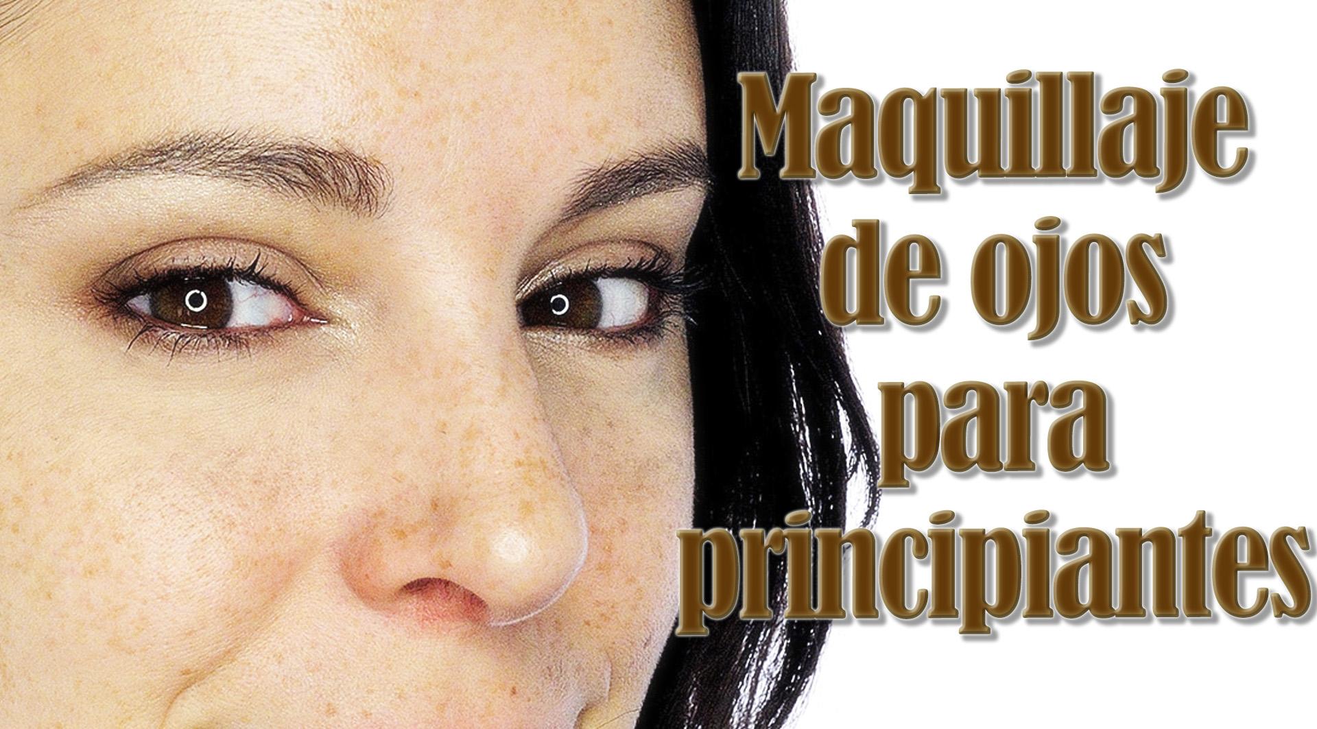 Tutorial maquillaje para principiantes y partes del ojo silvia quir s - Ojos ahumados para principiantes ...