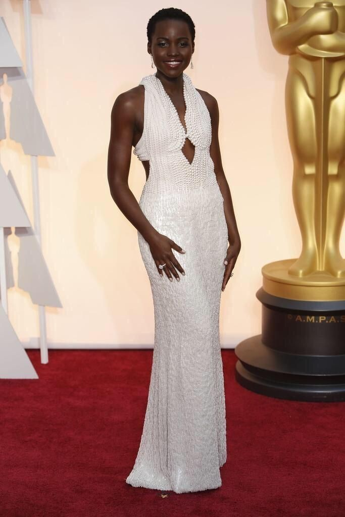 Lupita N'yongo, Calvin Klein Collection