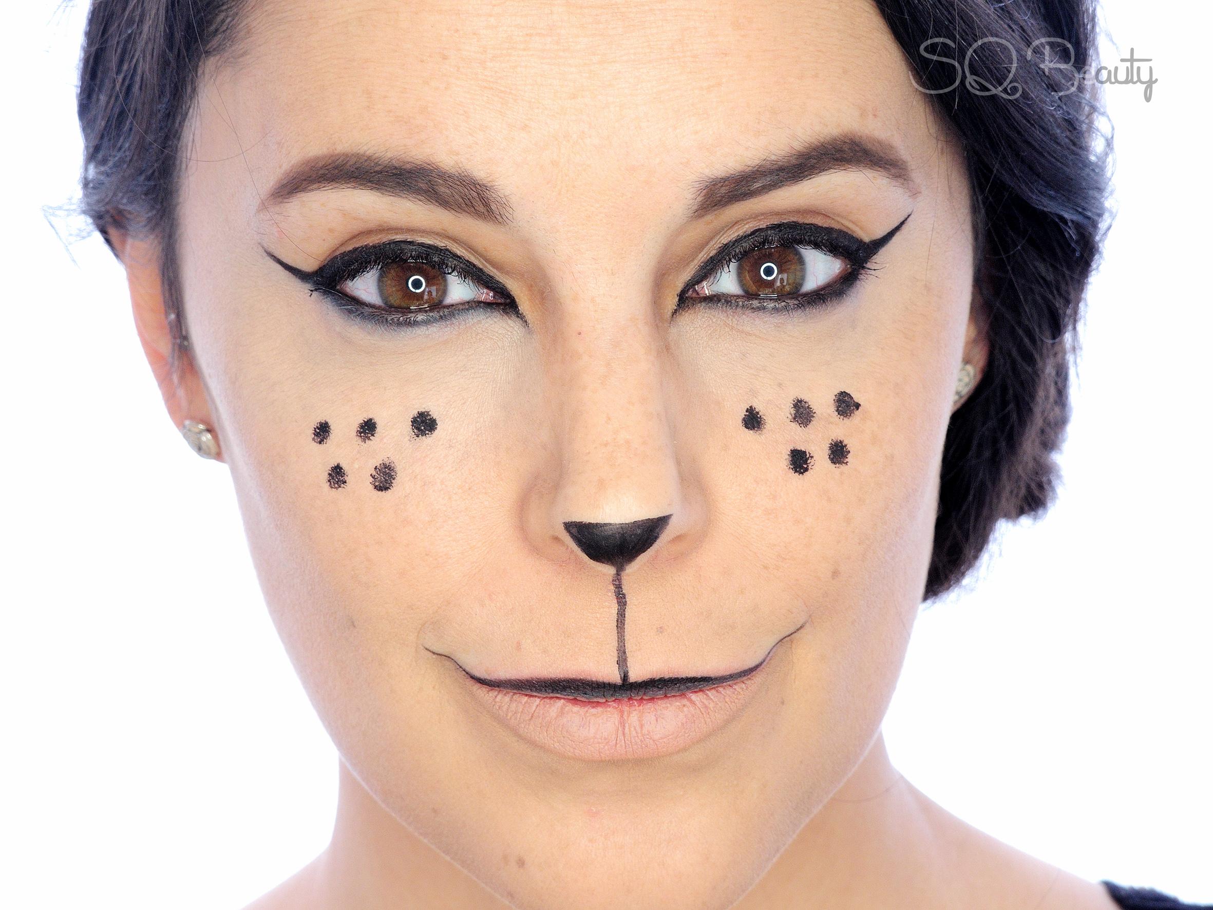Sexy Kitten carnival makeup tutorial Silvia Quirs