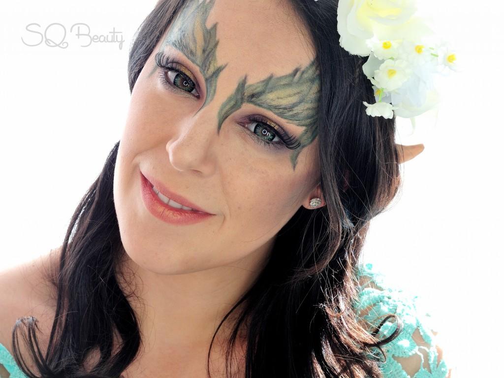 Tutorial maquillaje Hada de la Tierra