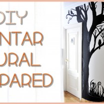 DIY Árbol mural de pared