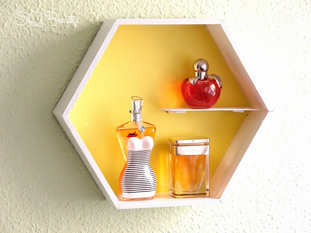 Tutorial DIY cuadros para perfumes