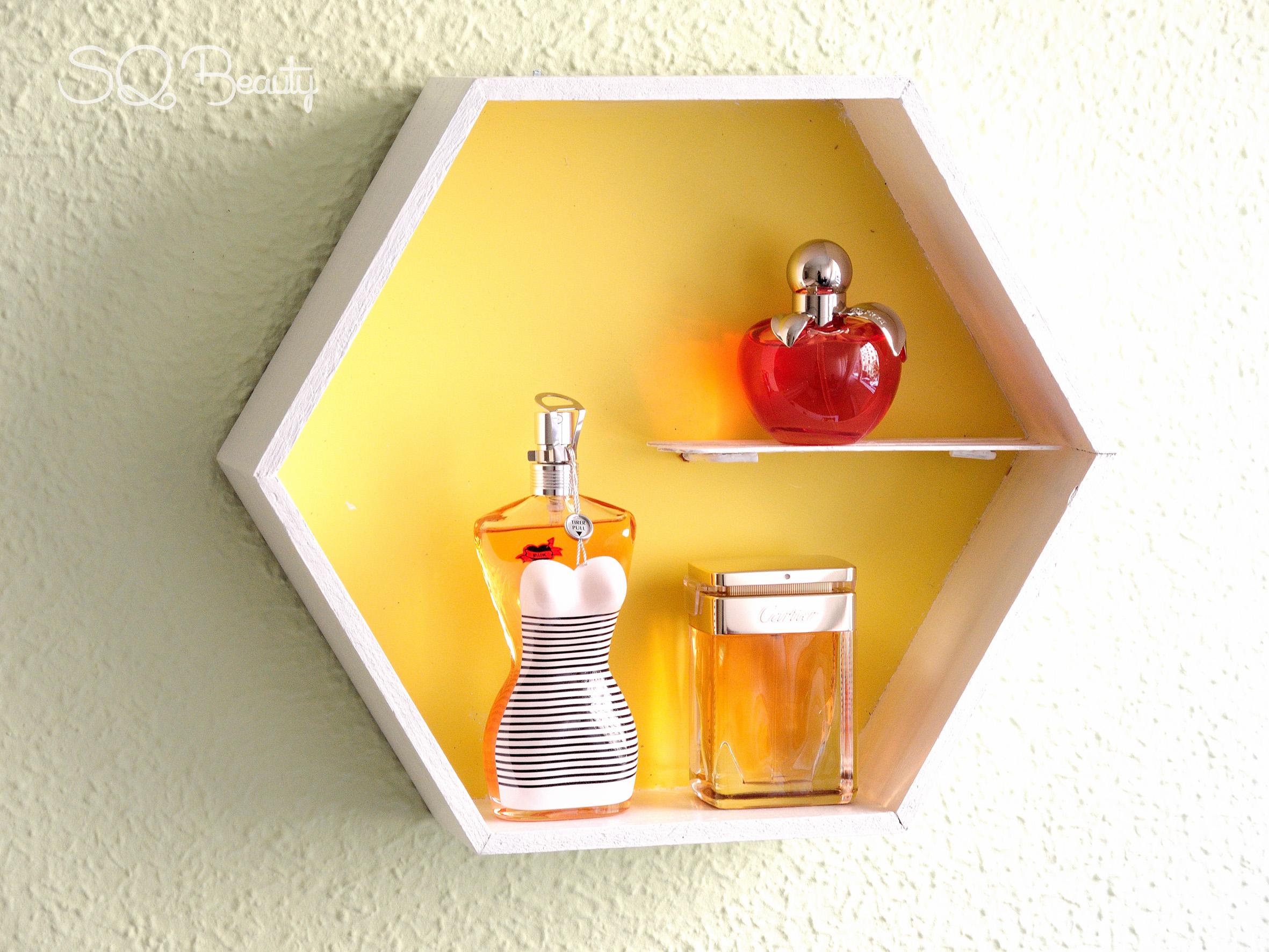 Tutorial DIY cuadros para perfumes - Silvia Quirós