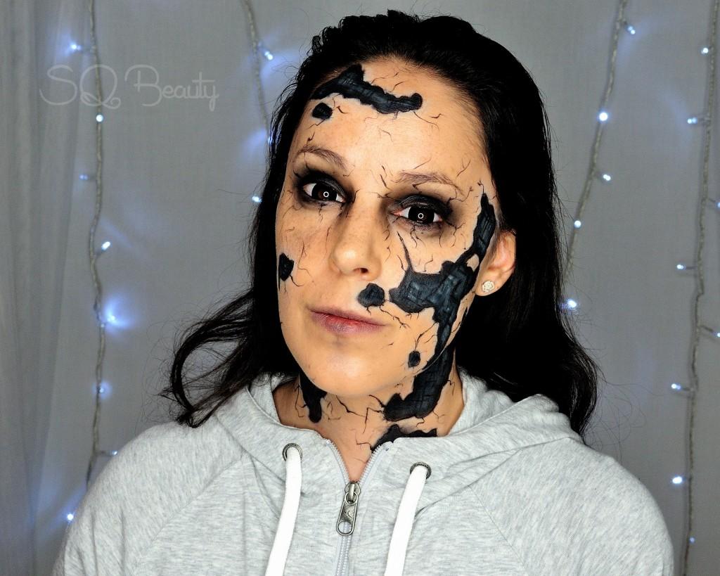 Maquillaje efecto especial de la película Lazarus