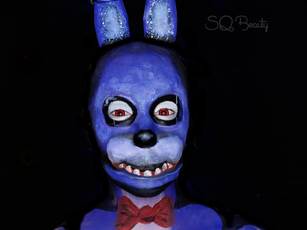 Tutorial maquillaje Bonnie de Five Nights at Freddy's