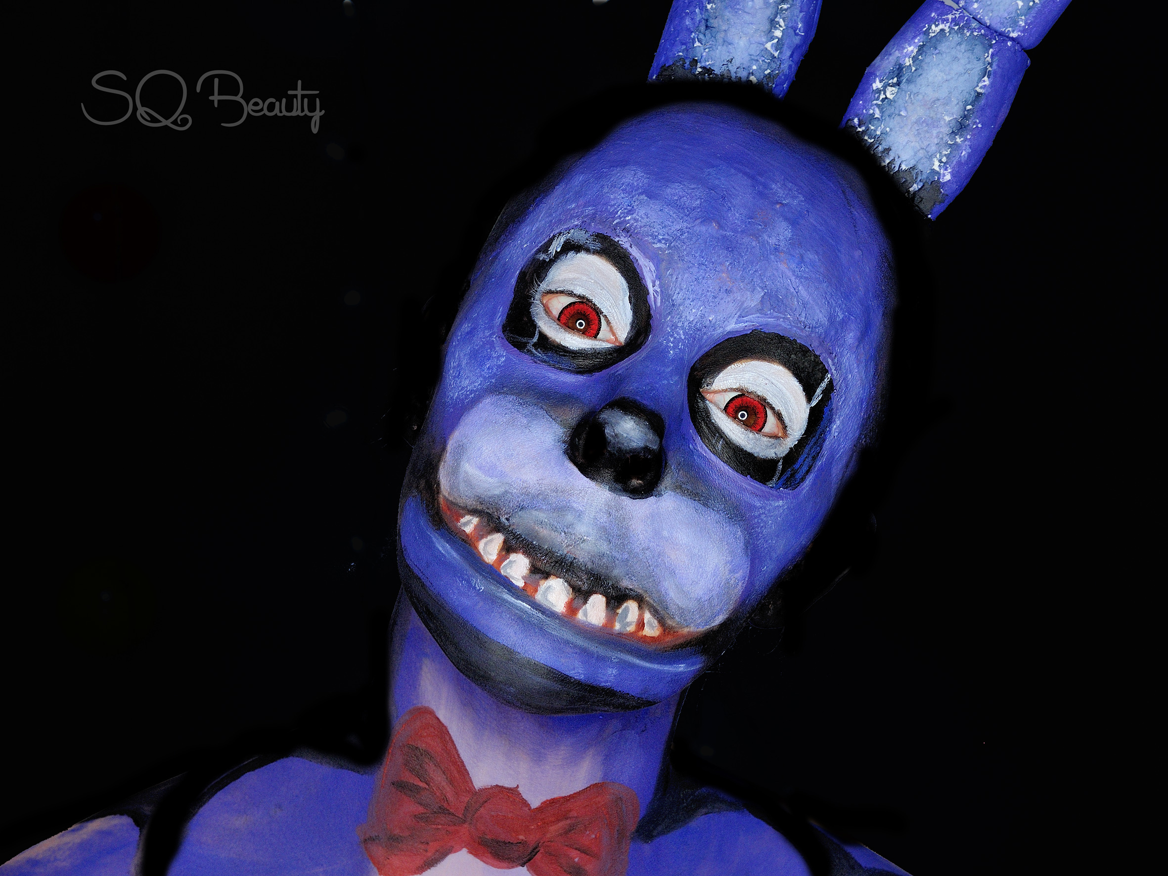 Tutorial maquillaje Bonnie de Five Nights at Freddy's ...