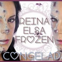 Maquillaje efecto Reina Elsa Concelada