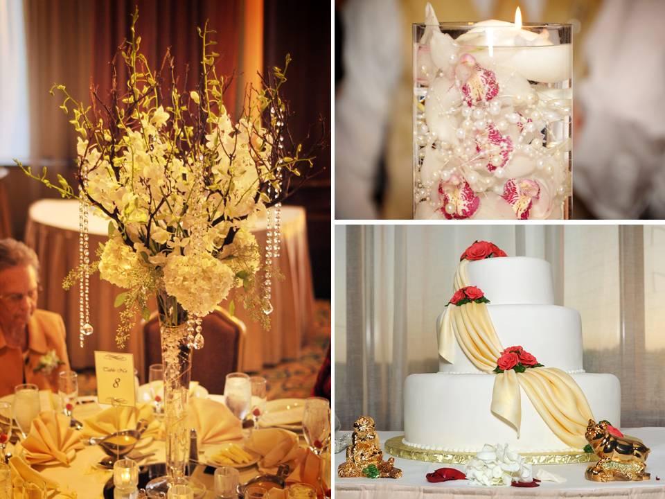Sitio y detalles de una boda clásica