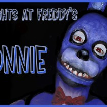 Tutorial maquillaje Bonnie de Five Nights at Freddy's