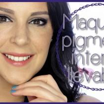 Maquillaje pigmentos llevables