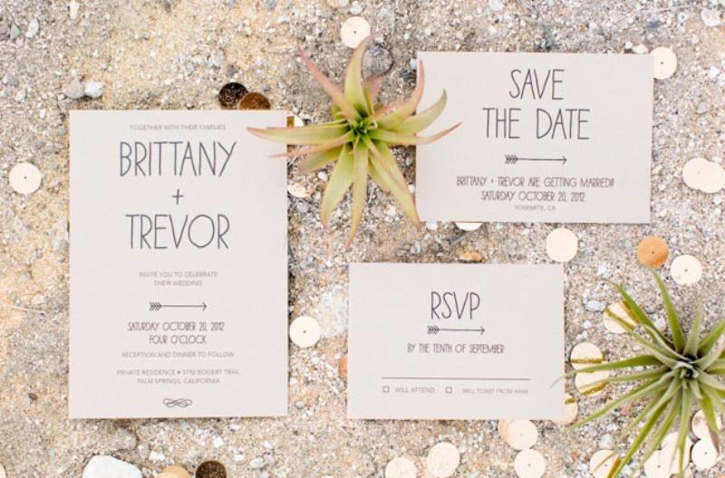 Invitaciones boda bohemia