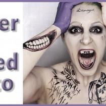 Maquillaje Joker de Jared Leto