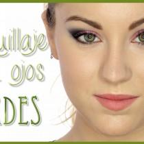 Maquillaje intenso para ojos verdes