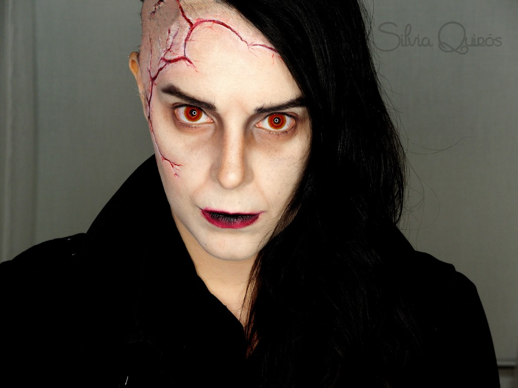 Maquillaje The Creature de Penny Dreadful FX