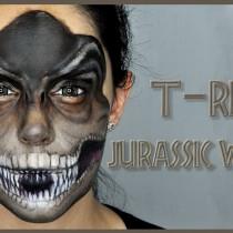Maquillaje T-Rex Jurassic World