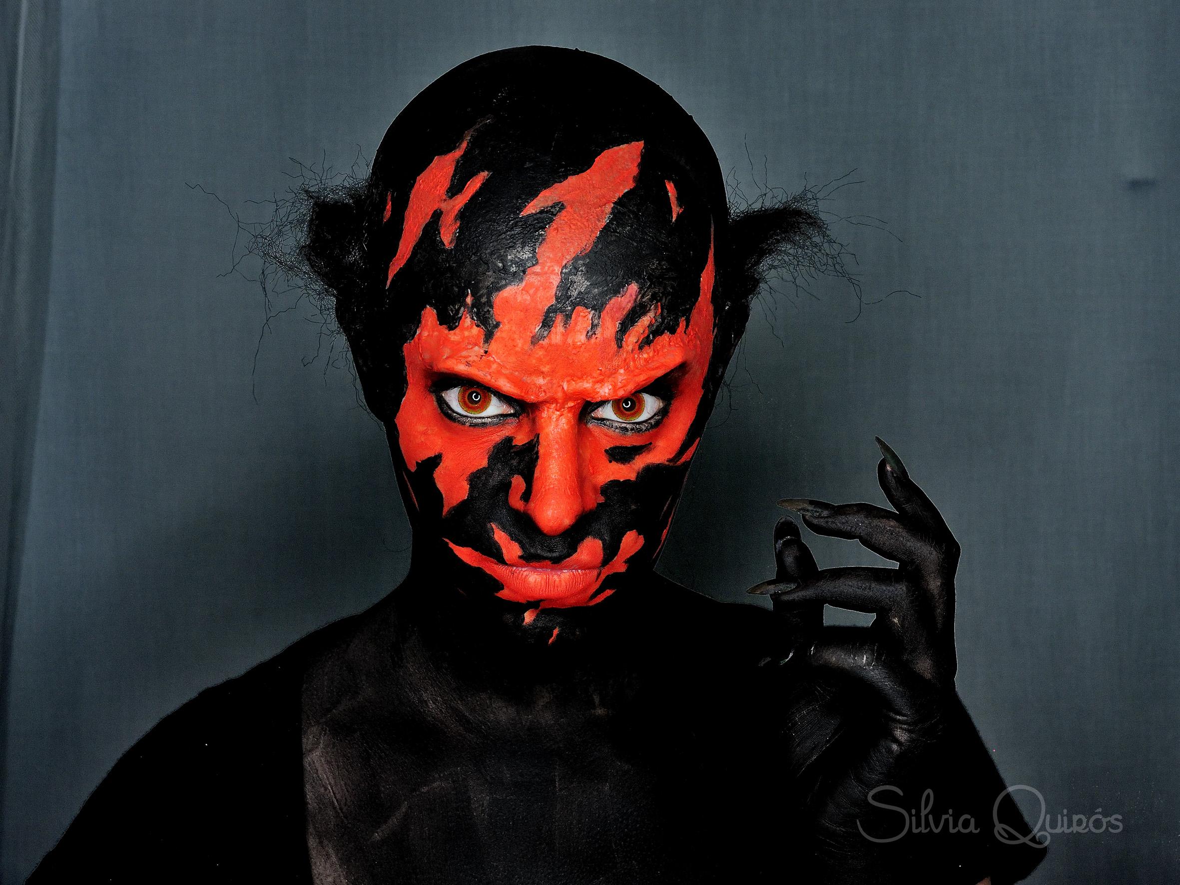 maquillaje demonio insidious 3 - Maquillaje Demonio