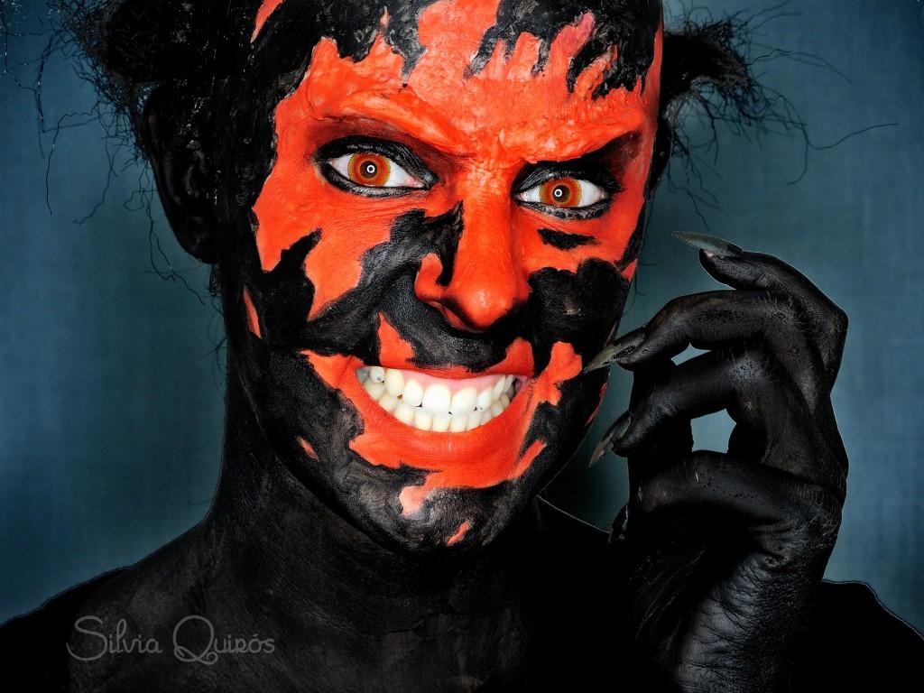 Maquillaje demonio Insidious 3