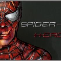 Maquillaje efectos especiales Spider-Man herido