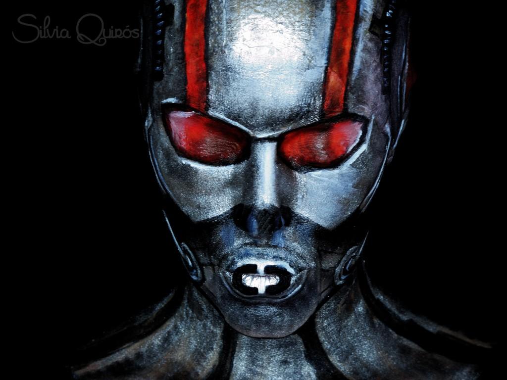Tutorial maquillaje Ant-Man efectos especiales