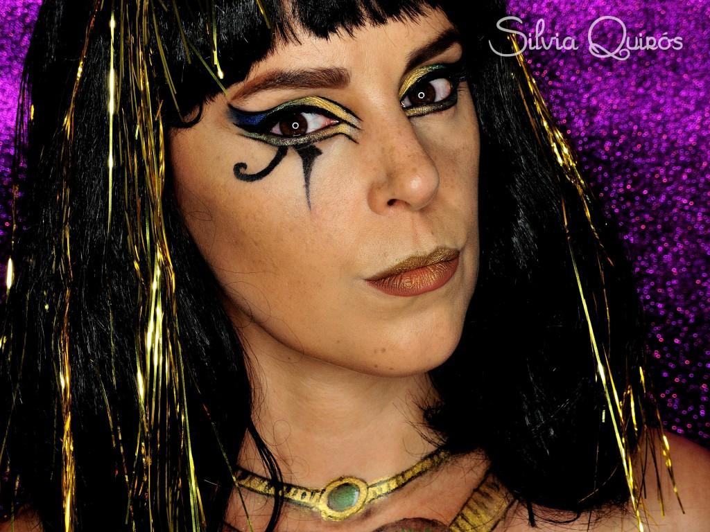 Tutorial maquillaje Diosa Egipcia Bastet