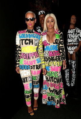Amber Rose and Blac Chyna