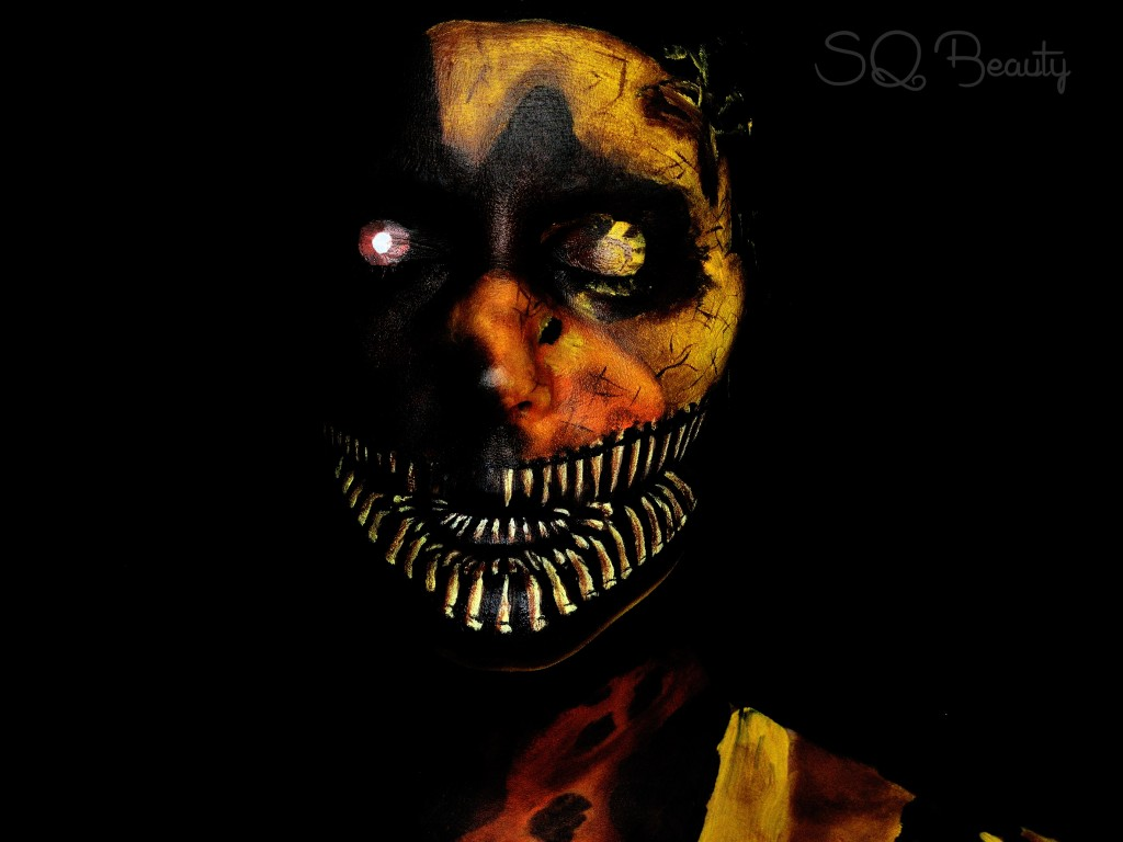 Maquillaje Chica Five Nights at Freddy's 4