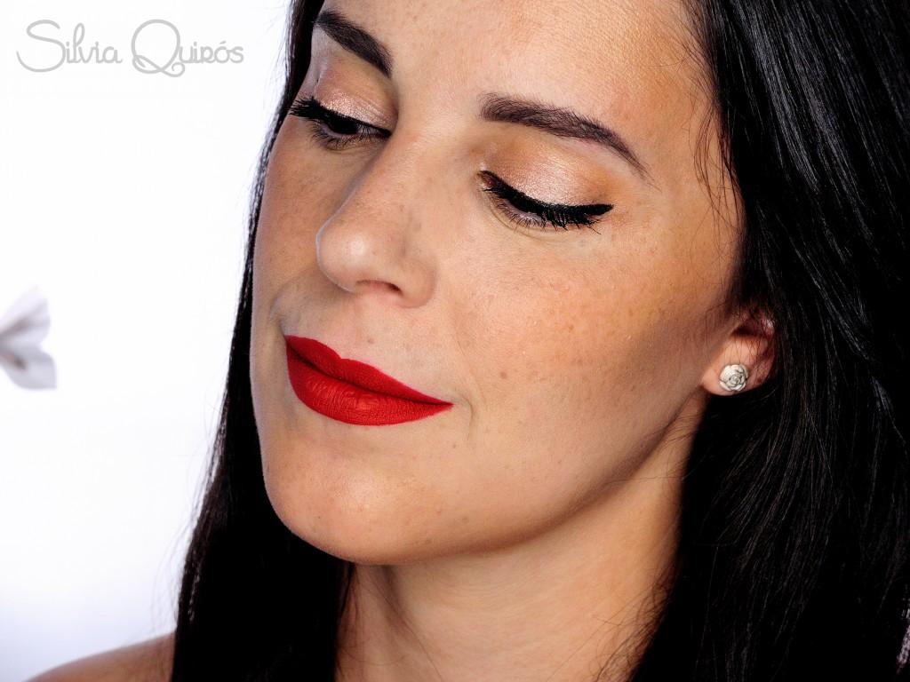 Maquillaje Pin Up resistente al sudor