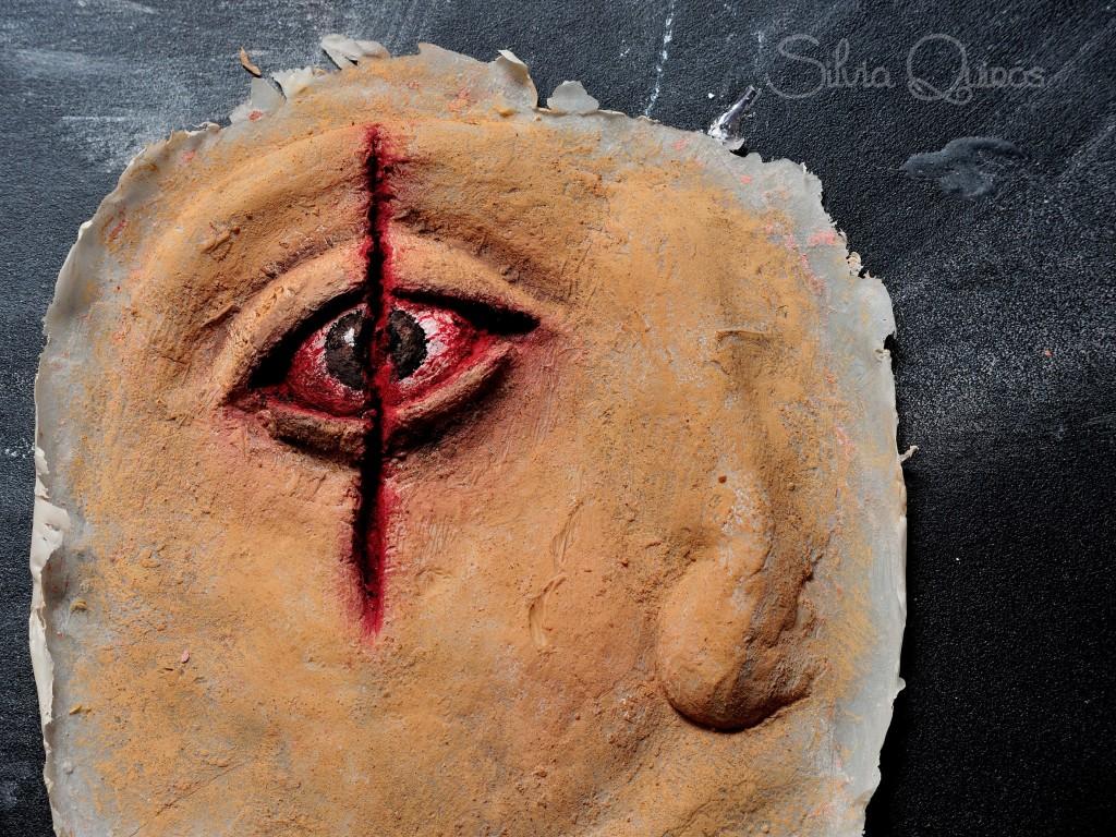 Como hacer prótesis de ojo rajado