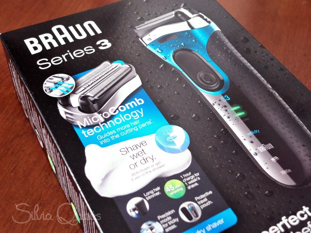 Nuevo afeitadora Braun Serie 3