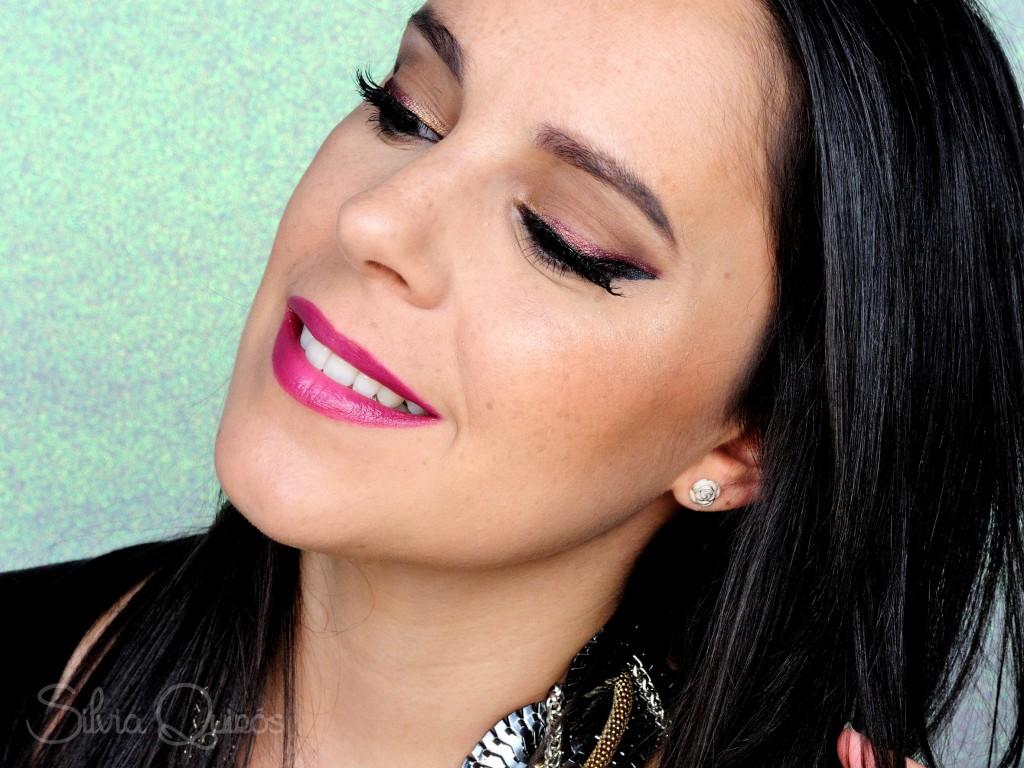Maquillaje fin de año Low cost
