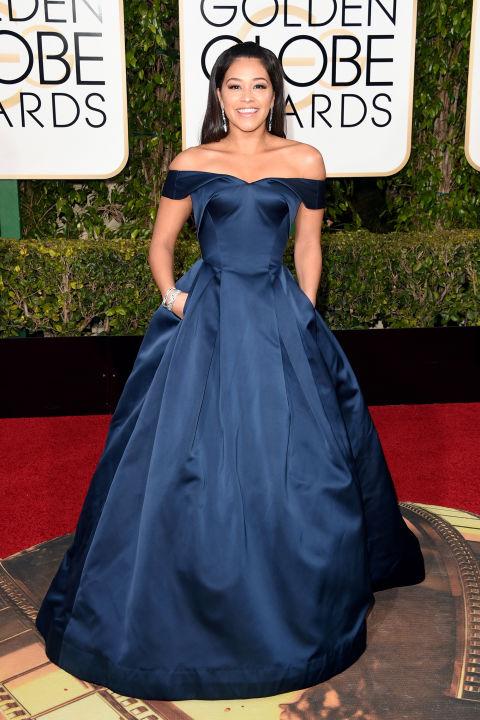 Gina Rodriguez by Zac Posen