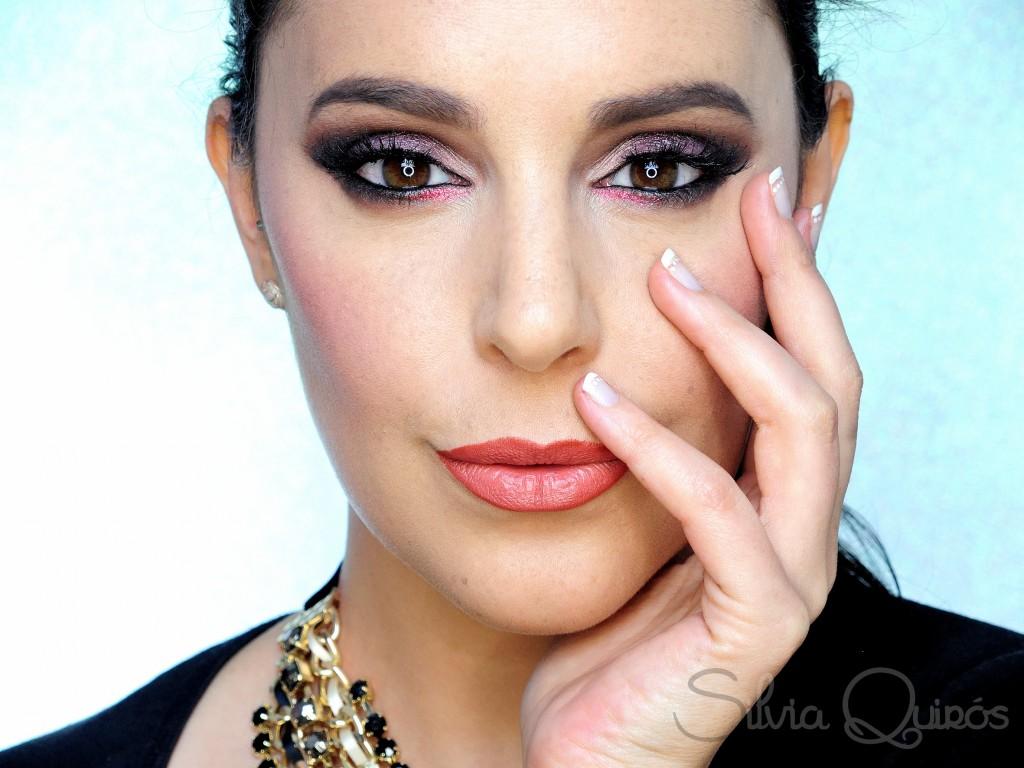 Maquillaje Luz fucsia tutorial