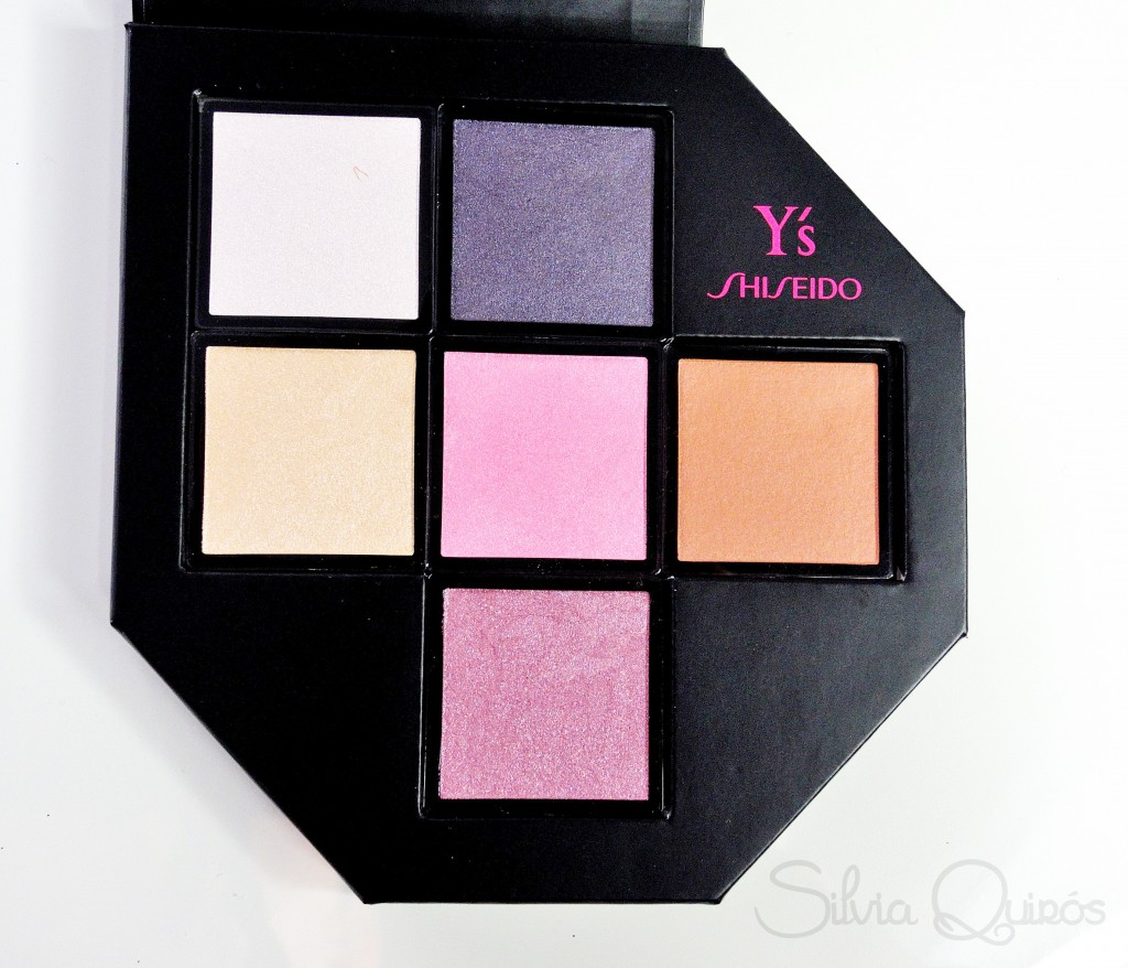 Nueva paleta de sombras Festive Camellia de Shiseido
