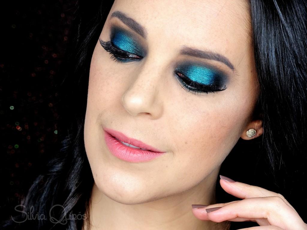 Tutorial maquillaje ahumado Agua Marina