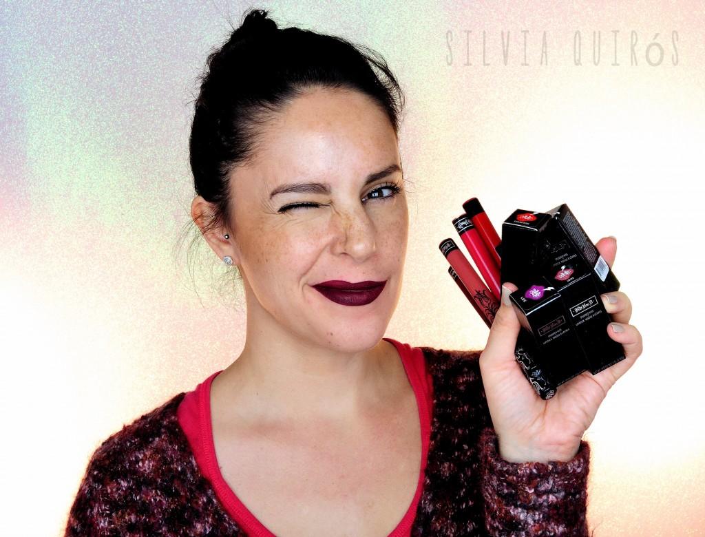 Probando los labiales en barra y líquidos de Kat Von D Beauty