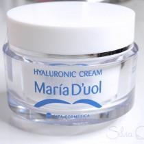 Hyaluronic cream de Maria D'uol para una alta hidratación